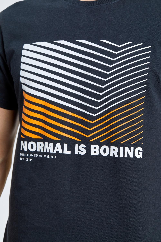 חולצת טי הדפס גרפי