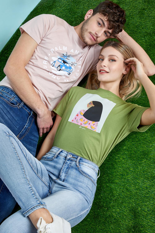 חולצת טי PALM & SURF