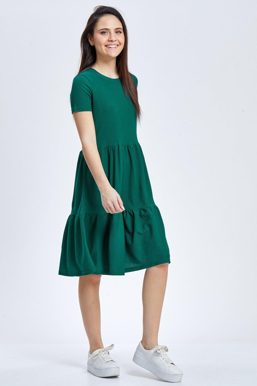 שמלת טקסטורה קומות