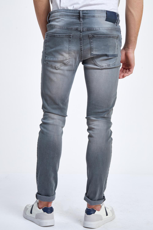 גבר מכנס ארוך ג`ינס שפשופים