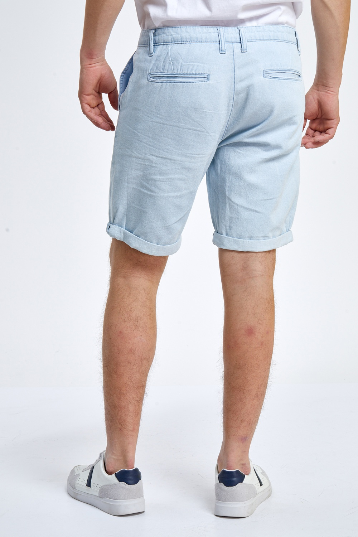 ברמודה ג'ינס דק תכלת בעיצוב צ'ינו