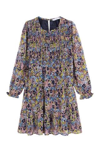 שמלת שיפון פרחונית ילדות/נערות