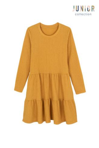 שמלת קומות סריג כיפית ילדות/ נערות