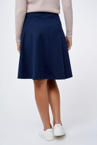 חצאית בייסיק כחולה