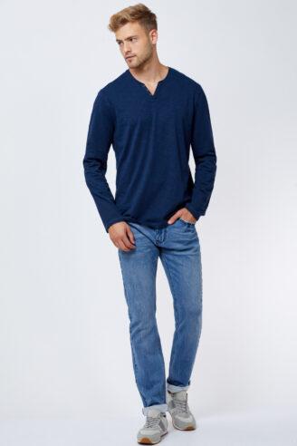 ג'ינס ג'רסי TWILL כחול בהיר